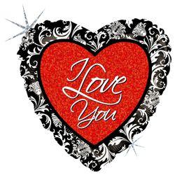 86719H--Love-Damask
