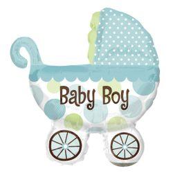 p_6_4_7_2_6472-Balao-mini-forma-Aluminio-Carrinho-Baby-Boy